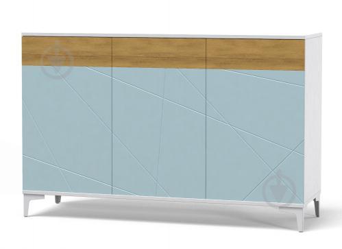 Греденция Art in Head Picassa Т6 3д аляска /голубая лагуна - фото 1