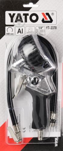 Пневмопистолет для подкачки YATO  YT-2370 - фото 4