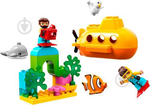 Конструктор LEGO Duplo Пригоди на підводному човні 10910 - фото 2