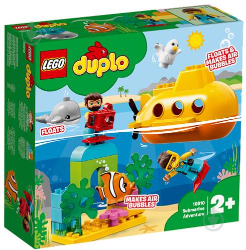 Конструктор LEGO Duplo Пригоди на підводному човні 10910 - фото 1