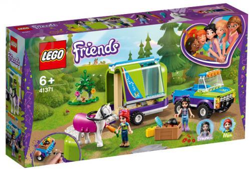 Конструктор LEGO Friends Фургон для коня Мії 41371 - фото 1