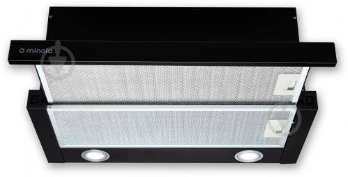 Вытяжка Minola HTL 6612 BL 1000 LED - фото 1
