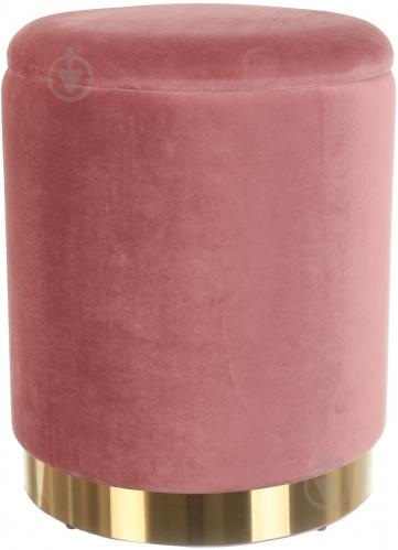 Сундук-пуф Francois 36х36х44 см роуз голд - фото 1