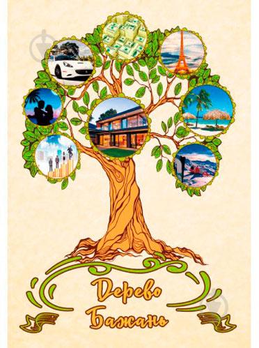 ᐉ Картина Дерево бажань 27x39 см Posterclub • Краща ціна в Києві, Україні •  Купити в Епіцентрі