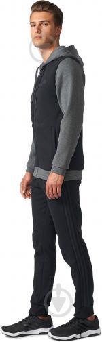 Спортивный костюм Adidas Energize р. L серый с черным BQ6974 - фото 4