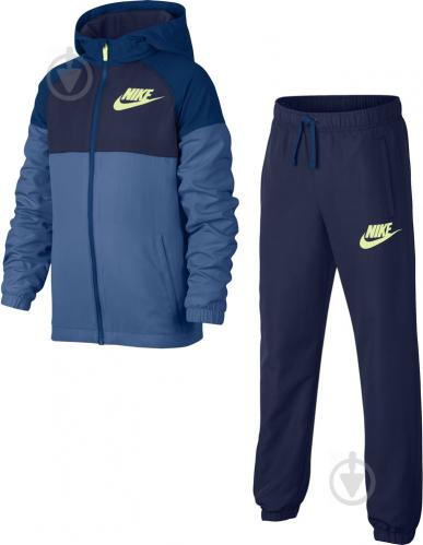 ᐉ Спортивний костюм Nike NSW Winger Warm-Up р. L синій 856209-494 ... c5e9e6a1e8c2b
