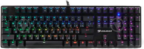 Клавіатура Cougar (Vantar MX Red Switches Black) - фото 1