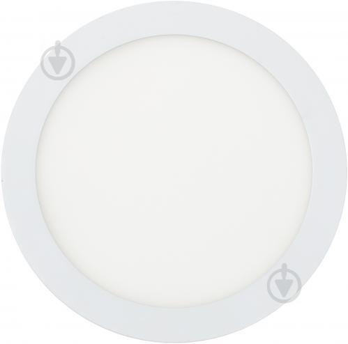 Світильник вбудовуваний (Downlight) Eurolamp 20 Вт 4000 К білий матовий LED-DLR-20/4