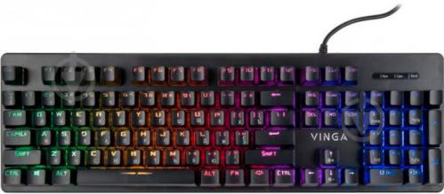 Клавіатура Vinga (KBGSM120 Black) - фото 1