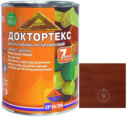 Лазурь ІРКОМ Доктортекс ИР-013 вишня шелковистый мат 0,8 л - фото 1