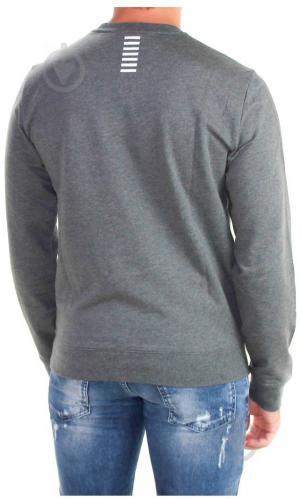 Джемпер EA7 р. XL темно-серый меланж 6YPM52-PJ05Z-3925 - фото 2