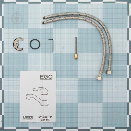 Смеситель для умывальника EGO Fine f1236178cp-1-eua - фото 2