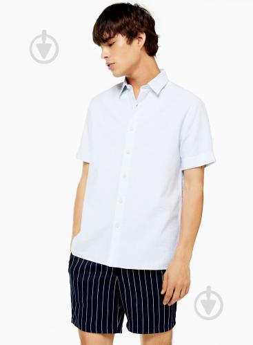 Рубашка TopMan CASUAL SHIRTS 83R19P-WHT р. M белый - фото 1