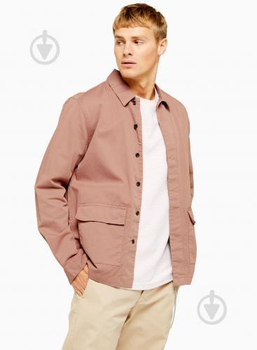 Рубашка TopMan CASUAL SHIRTS 83S09O-PNK р. S розовый - фото 1