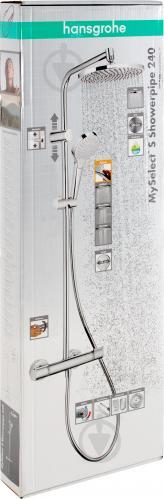 Душова система Hansgrohe MySelect S 240 Showerpipe 26758400 - фото 5