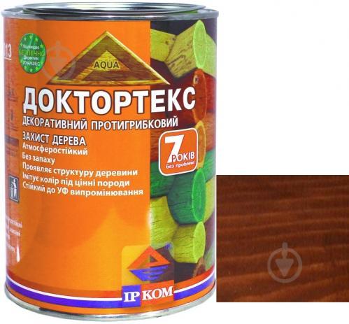 Лазурь ІРКОМ Доктортекс ИР-013 каштан шелковистый мат 0,8 л - фото 1