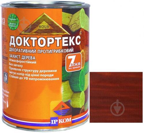 Лазурь ІРКОМ Доктортекс ИР-013 орех шелковистый мат 0,8 л - фото 1