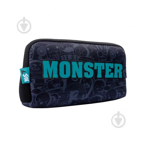 Пенал шкільний Monster TO-01 532954 YES синій - фото 1