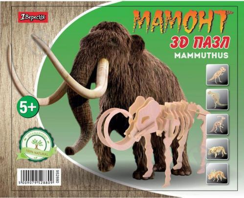 Набір 3D пазл динозавр Mammoth - фото 1