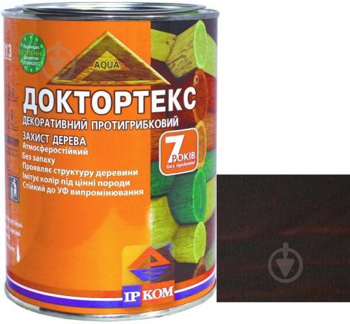 Лазурь ІРКОМ Доктортекс ИР-013 палисандр шелковистый мат 0,8 л - фото 1