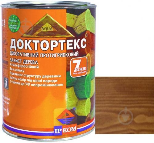 Лазурь ІРКОМ Доктортекс ИР-013 тик шелковистый мат 0,8 л - фото 1