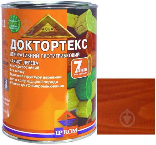Лазурь ІРКОМ Доктортекс ИР-013 рябина шелковистый мат 0,8 л - фото 1