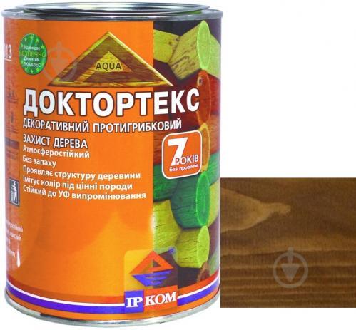 Лазурь ІРКОМ Доктортекс ИР-013 оливковый шелковистый мат 0,8 л - фото 1