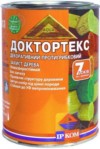 Лазурь ІРКОМ Доктортекс ИР-013 зеленый шелковистый мат 0,8 л - фото 1