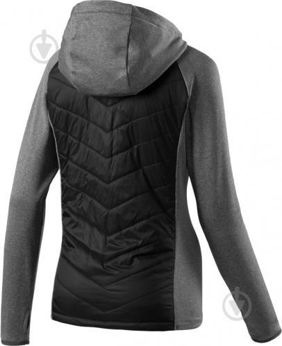 Куртка Energetics Marry р. XXS чорний із сірим 267919-50 - фото 2