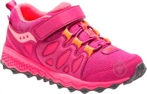 Кроссовки Saucony SY-Girls Peregrine Shield A/C SC57135 р. 12.5 малиновый