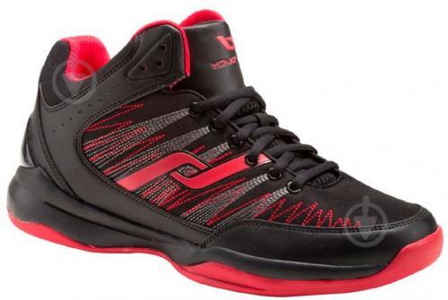 Кроссовки Pro Touch BB Slam III M 269974-900050 р.8.5 черный с красным