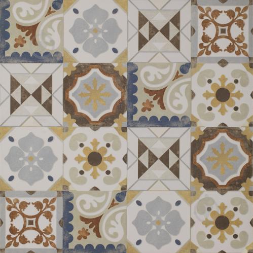 Плитка Ceramika Paradyz CEMENT GRYS PATCHWORK MAT 60х60 - фото 1