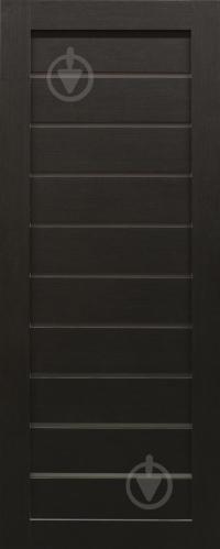 Дверне полотно Dverona 502 ПГ 800 мм венге