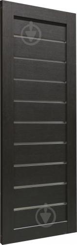 Дверне полотно Dverona 502 ПГ 800 мм венге - фото 2