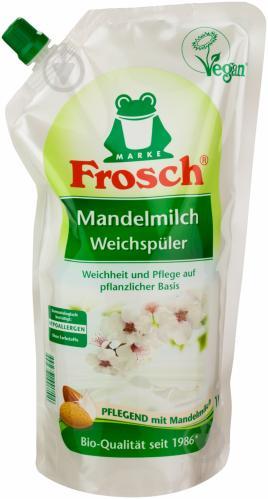 Кондиционер для белья Frosch Миндальное Молочко 1 л - фото 1