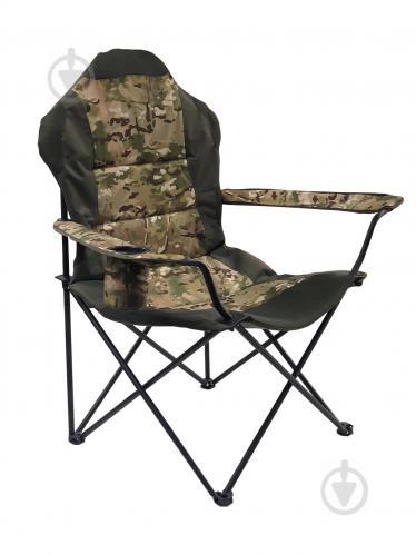 Кресло раскладное Рыбак Люкс милитари - фото 1