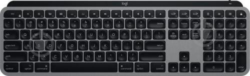 Клавіатура Logitech MX Keys Wireless for Mac Space (920-009558) black - фото 1