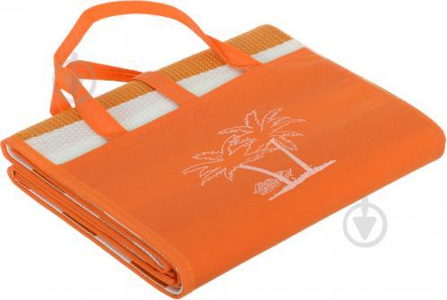 ᐉ Коврик для пляжа 180x90 см оранжевый оранжевый • Купить в Киеве ... 707f6b4e79e