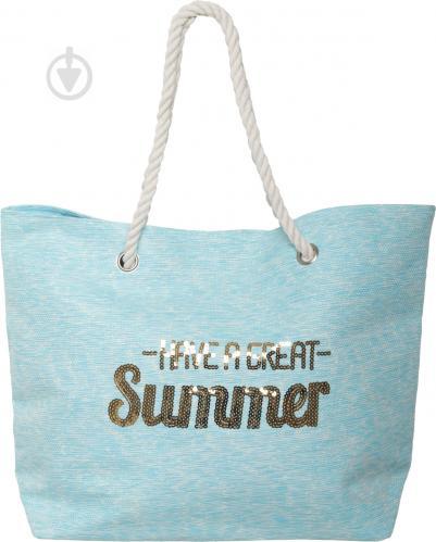 ᐉ Сумка пляжная Summer голубой LY04B7291 • Купить в Киеве, Украине ... caf77f2d745