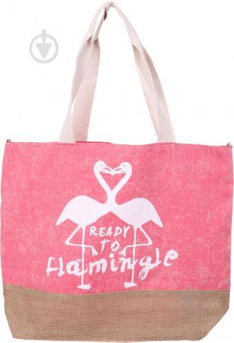 ᐉ Сумка пляжная Flamingo розовый • Купить в Киеве, Украине • Лучшая ... 6409574f98b