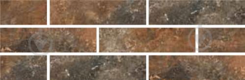 Клінкерна плитка ARTEON BROWN ELEWACJA 24,5х6,6 Ceramika Paradyz - фото 1