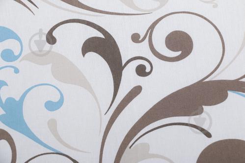 Комплект постільної білизни Насолода сімейний блакитний Ярослав - фото 4 f55eed728b15b