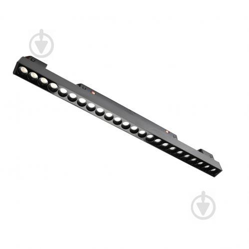 Магнітний трековий прожектор Светкомплект MTL-G 3202 LED 20 Вт 4000 К чорний - фото 1