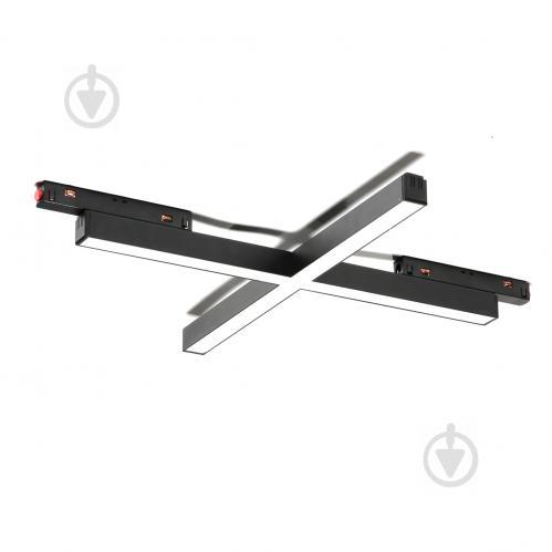 Магнітний трековий прожектор Светкомплект MTL-CC 3188 LED 40 Вт 4000 К чорний - фото 1