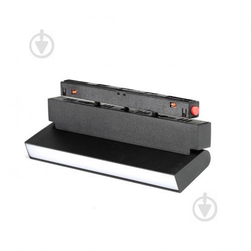Магнітний трековий прожектор Светкомплект MTL-G 3193 LED 10 Вт 4000 К чорний - фото 1
