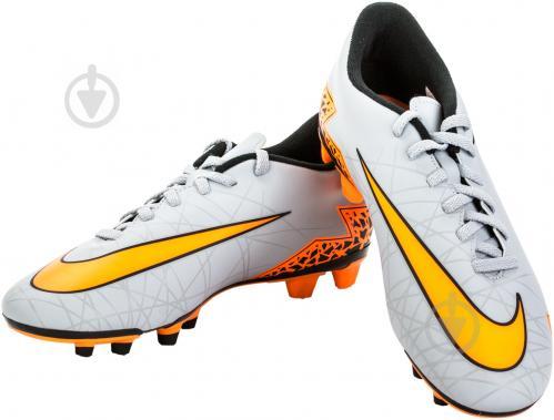 99015475 ᐉ Бутсы Nike Hypervenom II 749889-080 10 серый • Купить в Киеве ...