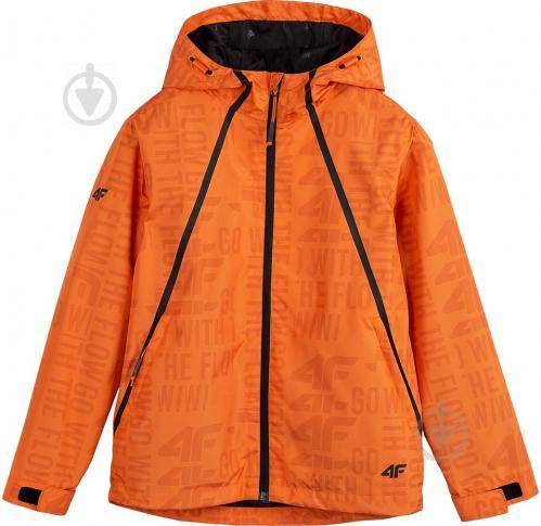 Куртка 4F J4L21-JKUM201A-70S р.158 оранжевый - фото 1