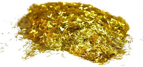Глітер Люрекс золото SILKPLASTER 0,01 кг - фото 1