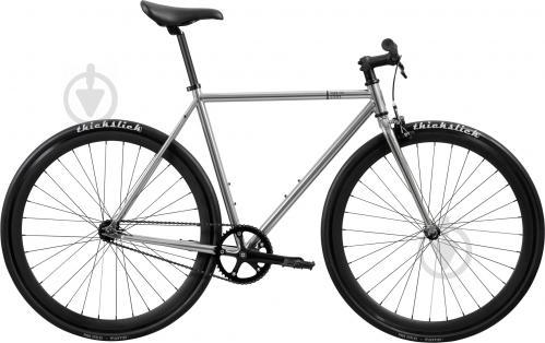 Велосипед Pure Fix Oscar серебристый рама - 58 см