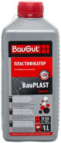 Пластификатор BauGut BauPLAST Zement заменитель извести 1 л